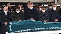 Cumhurbaşkanı Erdoğan  iş adamı Gür'ün cenazesine katıldı