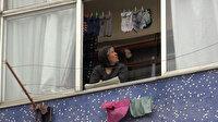 Çatı katı alev alev yanarken 5. katta oturan kadın evden çıkmadı
