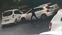 İstanbul'da dehşet anları: Önünü kestiği aracın sürücüsüne kurşun yağdırdı