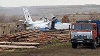 Tataristan'da uçak yere çakıldı: 16 ölü