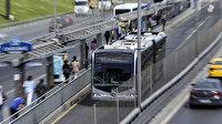 Metrobüs arızası nedeniyle Beylikdüzü hattında araç kuyruğu oluştu