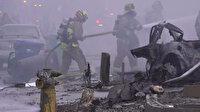 ABD'de uçak kazası: Evlerin bulunduğu bölgeye düştü