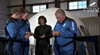 Star Trek'in Kaptan Kirk'ü William Shatner'in uzay yolculuğu