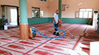 Ortak kullanım alanlarında dezenfekte hijyen ve temizlik çalışmaları sürüyor