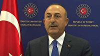Taliban heyetiyle görüşme sonrası Bakan Çavuşoğlu'ndan ilk açıklama: Beklentimiz güvenlik