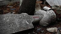 İstanbul Kasımpaşa'da tarihi mezarların içler acısı hali