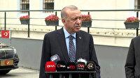 Cumhurbaşkanı Erdoğan 'siyasi cinayetler' iddiasına yanıt: Dürüstse yargıya delil sunsun