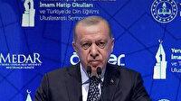 Cumhurbaşkanı Erdoğan: İmam Hatip mezunuyum fakat tüm liseler emirlerinde olduğumuz okullardır