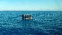 Yunanistan'ın ittiği 28 düzensiz göçmen daha kurtarıldı