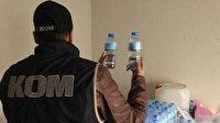 Yüzey temizleyicilerinden sahte içki! Yüzlerce insanı zehirleyeceklerdi: İki şahıs yakalandı