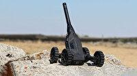 Mini insansız kara aracı ACROB'un özellikleri
