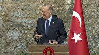 Cumhurbaşkanı Erdoğan'ın Merkel'e koalisyon yanıtı gülüşmelere sebep oldu: Zaman zaman hep şikayetlerinizi bana aktardınız