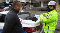 Denetimde ceza kesilen taksici: Muayenenin bittiğini memurlardan öğrendim