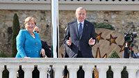 Cumhurbaşkanı Erdoğan Almanya Başbakanı Merkel ile görüştü