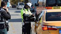 Taksilere denetim: 73'ü men edildi