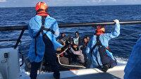 Yunan itti Türkiye kurtardı: İzmir ve Aydın açıklarında 50 düzensiz göçmen karaya çıkartıldı