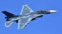 Japonya'da korkutan kaza: Savaş uçağının kokpit camı seyir halindeyken düştü