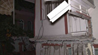 Avcılar'da bir apartman dairesinin balkonu çöktü