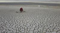 Arin Gölü'nün yüzde 15'i kurudu
