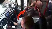 Zonguldak'ta otobüs şoförü fenalaşan yolcuyu hastaneye yetiştirdi
