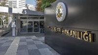 Dışişlerinden AB raporuna tepki: Türkiye'ye karşı sorumluluklar göz ardı edildi