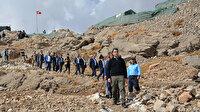 Terörden arındırılan Cudi Dağı'nı 40 muhtar gezdi