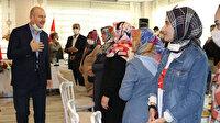 İçişleri Bakanı Soylu evlat nöbetindeki annelerle bir araya geldi