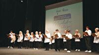 Minikler Mevlid-i Nebi'yi kutladı