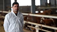 Çoban olarak işe başladı şimdi çiftlik sahibi