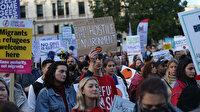 Londra mülteciler için sokağa döküldü: Güvenlik istemek suç değil