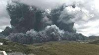Japonya'da volkanik hareketlilik alarmı: Aso Yanardağı'nda patlama meydana geldi