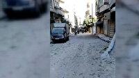 Suriye'de Esed zulmü sürüyor: İdlib'deki pazar yerine yapılan saldırıda 10 kişi öldü, 35 kişi yaralandı