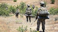 Pençe Kaplan operasyon bölgesinde tespit edilen 2 PKK'lı terörist etkisiz hale getirildi