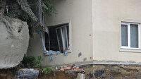 Üsküdar'da istinat duvarı çöktü: Facia ucuz atlatıldı