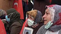 Evlat nöbetindeki anne Nazlı Sancar: Benim ciğerim nasıl yanıyorsa Rabbim onların ciğerini de öyle yaksın