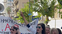 Atina'da sağlık çalışanları kötü çalışma koşullarını protesto etti