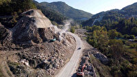 Bursa'da dağ ilçelerinde yol çilesi