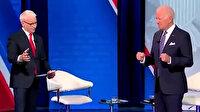 Joe Biden'ın canlı yayındaki hareketleri izleyicileri şaşırttı: Biden ne yapıyor?