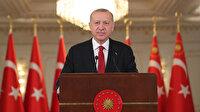 Cumhurbaşkanı Erdoğan yabancı basına tepki gösterdi, Türk dünyasına çağrı yaptı: Kendi göbeğimizi kendimiz kesmeliyiz