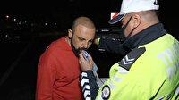 Kaza yapan alkollü sürücü polise sordu: Çok mu içmişim?