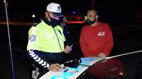 Aksaray'da kaza yapan alkollü sürücüden polise: Çok mu içmişim?
