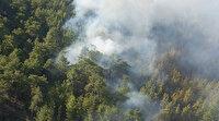Antalya Serik'teki yangın kontrol altında