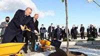 Cumhurbaşkanı Erdoğan Azerbaycan'da: İki lider Zengilan'da Akıllı Tarım Kampüsü'nün temelini attı