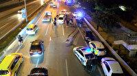 Bir 'makas' dehşeti daha:  Zincirleme kazaya neden oldu üç kişi yaralandı
