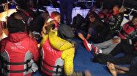 Muğla açıklarında 31 düzensiz göçmen daha kurtarıldı