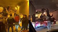 İstanbul'da tünel kapatıp asker eğlencesi düzenleyen magandalar cezasız kalmadı
