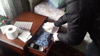 Kağıthane'de torbacının evine baskın: Polis kurye kılığında yakaladı