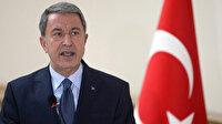 Milli Savunma Bakanı Akar: Terörist neredeyse hedefimiz orası