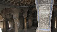 Kayseri'de 164 yıllık Rum kilisesinde defineci tahribatı