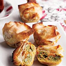 Muffin Kalıbında Taze Fasulyeli Börek